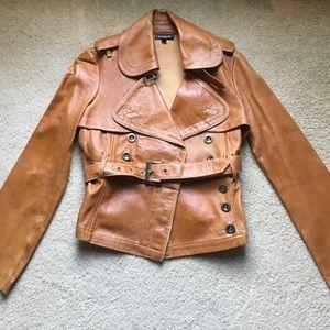 Bebe Vintage Leather Jacket